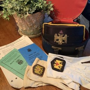 Ancient&Accepted Scottish Rite of Free Masonry Hat